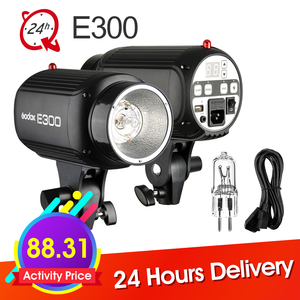Godox E300 300Ws Photography Studio Strobe Photo Flash Light 300w Studio Flash