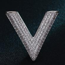 Luxury Brand Hombres Broches Joyería Perfecta Circonita Cobre Broche Hijab Pernos de la moda de Los Hombres de La Boda de Accesorios Hombres Broches