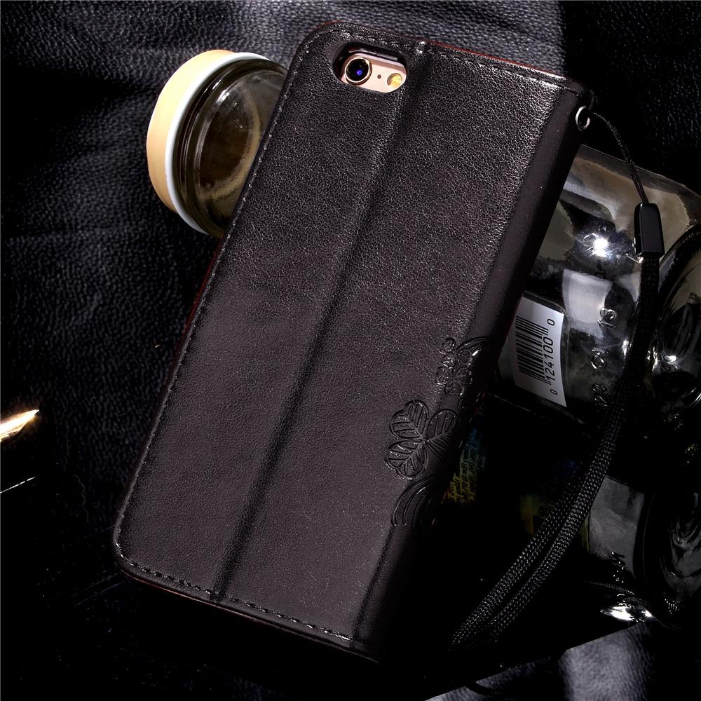 Funda Clover Book Cases For Samsung Galaxy J1 J5 2016 J1 mini J3 PU Leather Cover Luxry Flip Telephone Mobile Phone Accessories