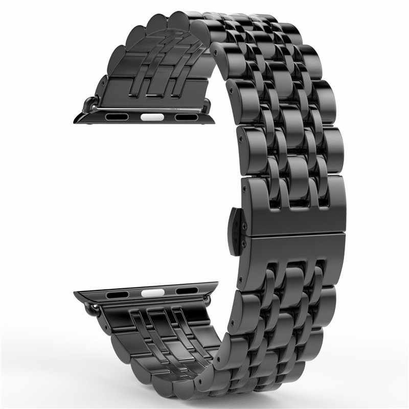 Stainless Steel Watch band Strap for apple watch 42 mm 38 mm link bracelet Replacement Watchband for iwatch serise 1 2 high quality link bracelet for apple watch band 316l stainless steel watchband for iwatch 42mm