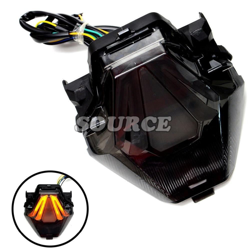 Venta caliente accesorios de la motocicleta Traseras de freno trasero integrado