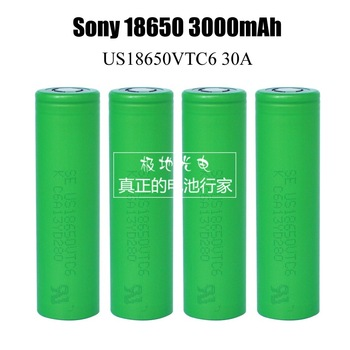 For SONY US 18650 VTC6 30AH Coutinuous discharge 3000mah 3.6V 3.7V Dynamic Lithium-ion Li ion Rechargeable Chargeable Batteries