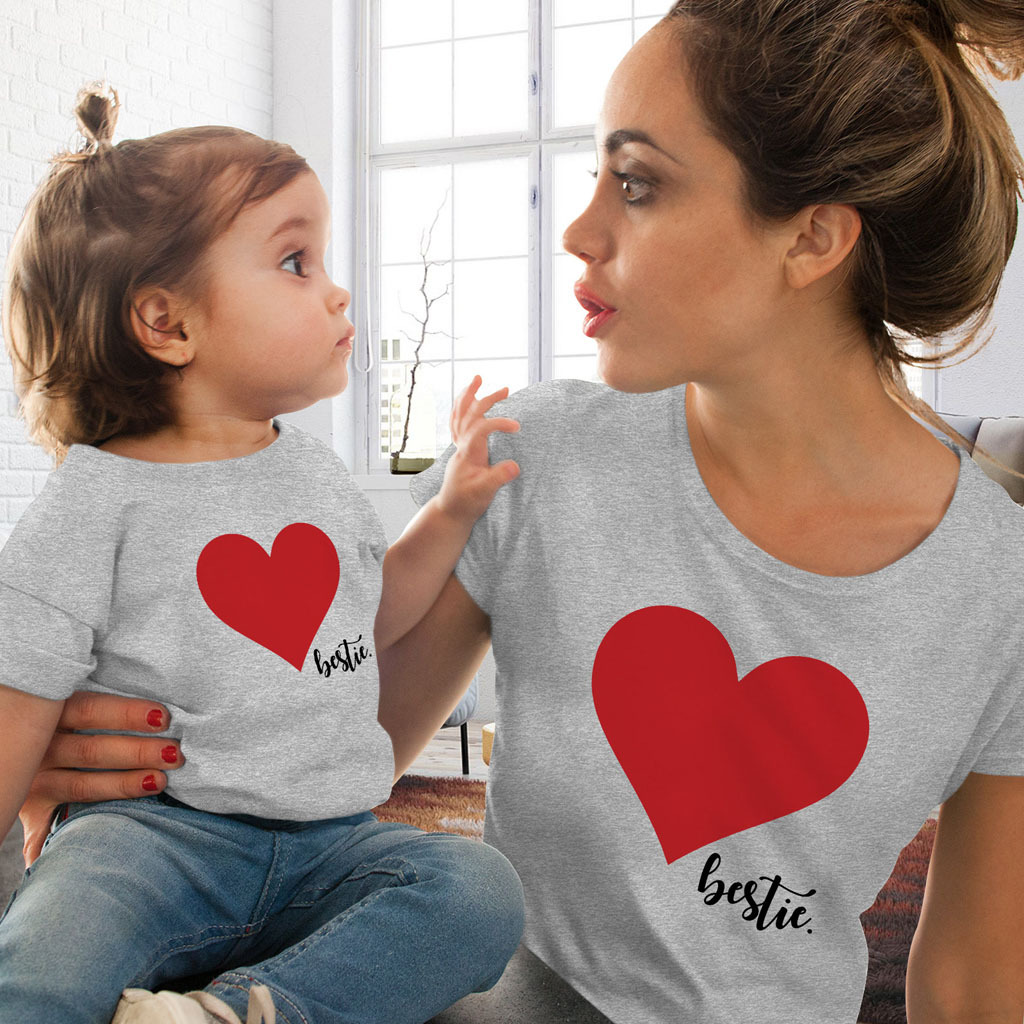 6652bce39e225 Family Matching Outfits Mother And Daughter Clothes Daddy Mommy and ...