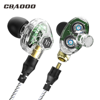 CBAOOO High Quality Earphone B02 In Ear Earbuds Metal Bass Earpods Stereo Headset 3 5mm Wired