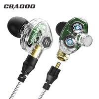 CBAOOO High Quality Earphone B02 In Ear Earbuds Metal Bass Earpods Stereo Headset 3 5mm Wired