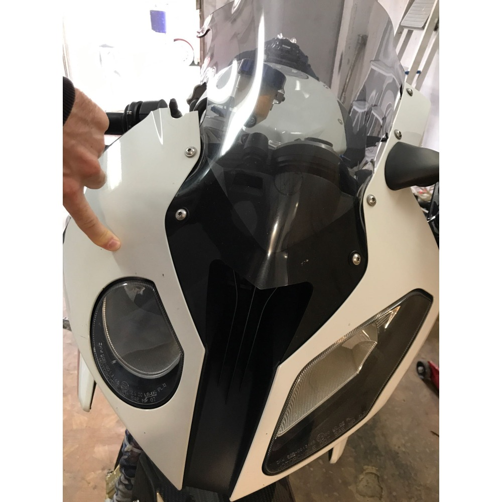 Motorcycle Injection Unpainted Upper Left Middle Right Front Cowl Nose Fairing Side fit for BMW S1000RR 2010 2011 2012 213 2014Motorcycle Injection Unpainted Upper Left Middle Right Front Cowl Nose Fairing Side fit for BMW S1000RR 2010 2011 2012 213 2014