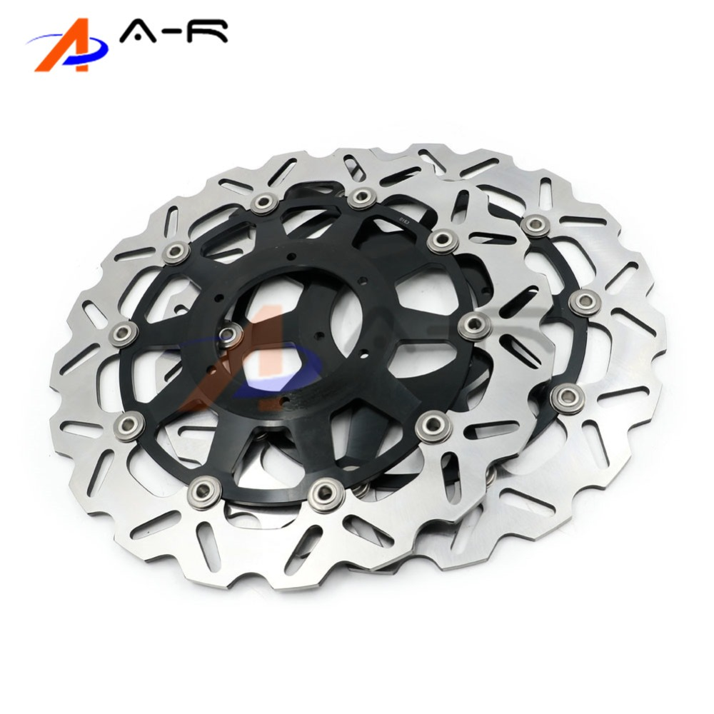 1 Pair Front Brake Rotors Disc Braking Disks L/R for Honda CBR 929 RR 00-01 CBR929RR 2000-2001 CBR 954 RR 02-03 CBR954RR 02-03 монитор asus 21 5 vs228de черный 90lmd8301t02201c