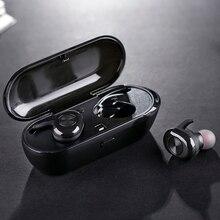 TWS אלחוטי אוזניות מיני Bluetooth 5.0 Binaural אוזניות לxiaomi Huawei iphone נייד סטריאו אוזניות אוזניות Headfree