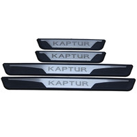 Kaptur Captur 2016 2018 External Door Sill Strip Scuff Plates Door Entry Guard Protectors for Renault Captur Kaptur 2016 2019