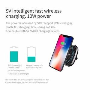 Image 2 - Nillkin 10W Không Dây Nhanh Chóng Sạc Xe Hơi Tề Từ Tính Cho Iphone 11 XS Max X XR 8 Dành Cho Samsung lưu Ý 10 S10 S10 + S9 Dành Cho Xiaomi