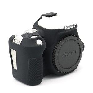 Резиновый мягкий силиконовый чехол для корпуса защитный чехол для камеры Canon EOS 200D Rebel SL2 Kiss X9 DSLR