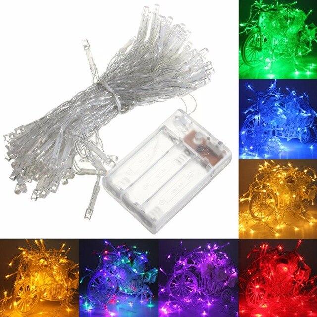 Us 993 Wysokiej Jakości Wodoodporna 10 M 80led Battery Powered Led Funky Nalampa Migotliwy Fairy Lights String W Wysokiej Jakości Wodoodporna 10