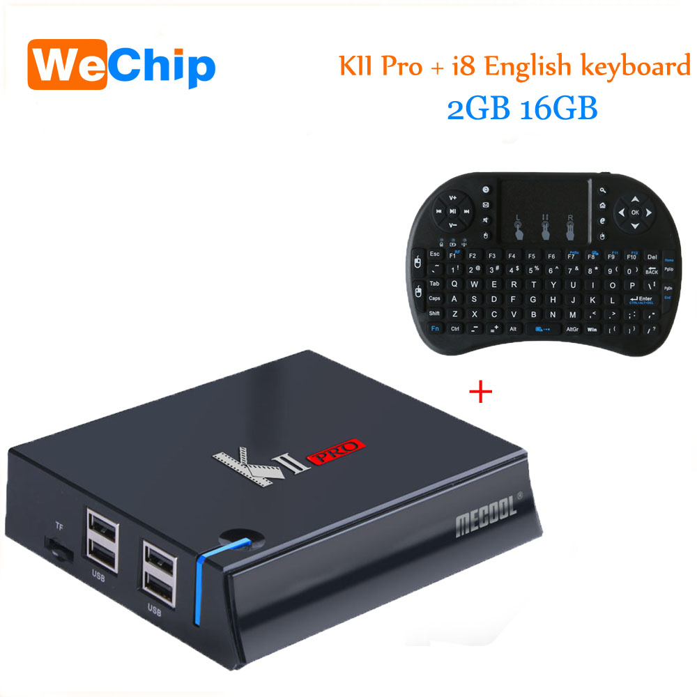 KII Pro 2G 16G TV Box Android 5.1 Amlogic S905 Quad-core 4K*2K 2.4G&5G Wifi Bluetooth 4.0 Androidtvbox m9 amlogic s905 android 5 1 4k quad core 1g 8g 802 11b g n lan tv box