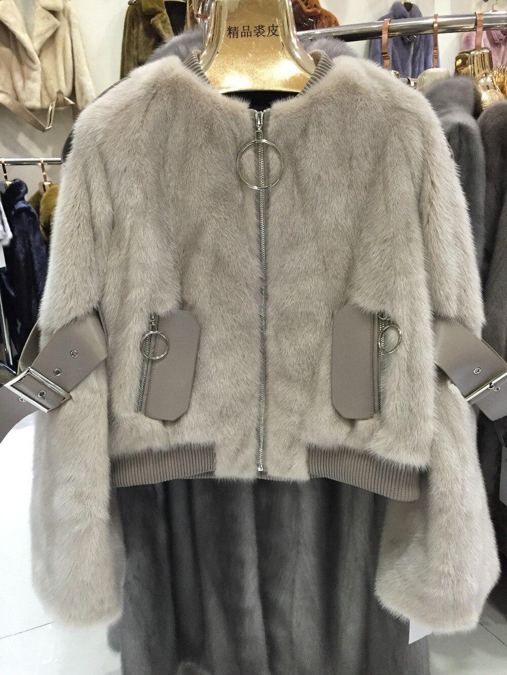 noir Manteau Réel Vraie Populaire Mode Femmes Naturel De Fourrure Sqxr Vison kaki Veste Chaud blanc Multi nZRwxfTFZq