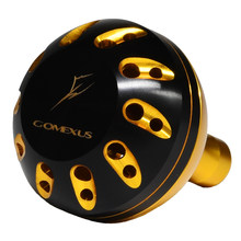 Gomexus Power Knob For Penn Spinfisher SSV SSM Battle II Daiwa BG Drill Shimano Reel Handle Grip B Direct Metal Round Crank Knob(China)