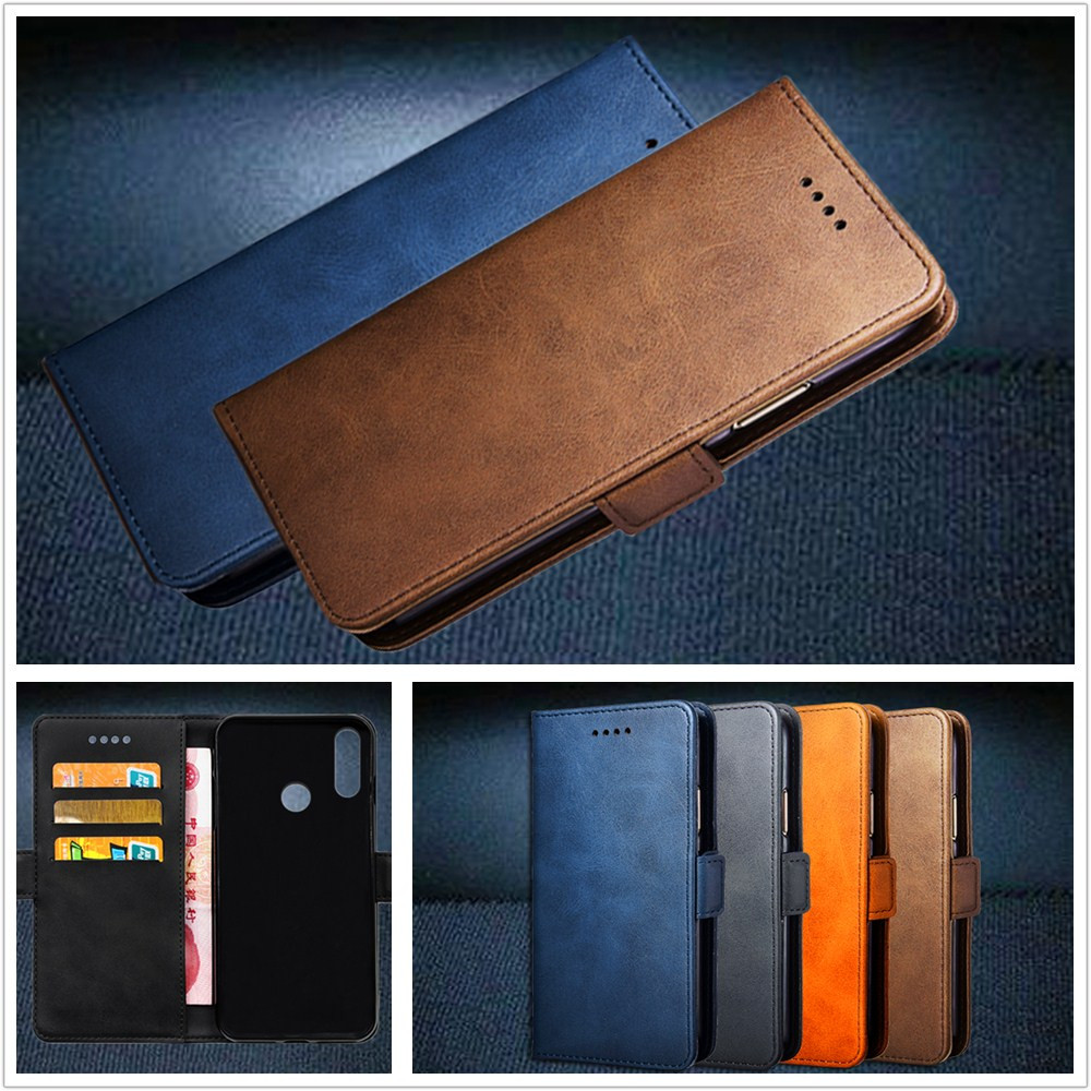Top Luxury Leather Case For Alcatel 5V / 5 V 5060D 6.2 inch Cellphone Flip Cover Case Housing With Card Slot Mobile Phone Shell