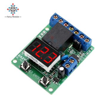 цена Excellent Relay Module DC 12V Relay Switch Control Board Module Relay Module Voltage Detection Charging Discharge Monitor Test онлайн в 2017 году