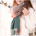 Warm Winter Blanket Scarf Women Cashmere Horse Scarves Burderry Plaid Large Long Thick Wool Bufandas Breathable Fitness Echarpe