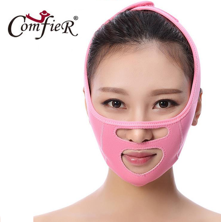 Thin mask sleep with the thin face beauty facial bandage promote legal grain double chin thin face workpiece v facial beauty too orthodontic reverse pull fact mask dental headgear orthodontic face mask adjustable face mask