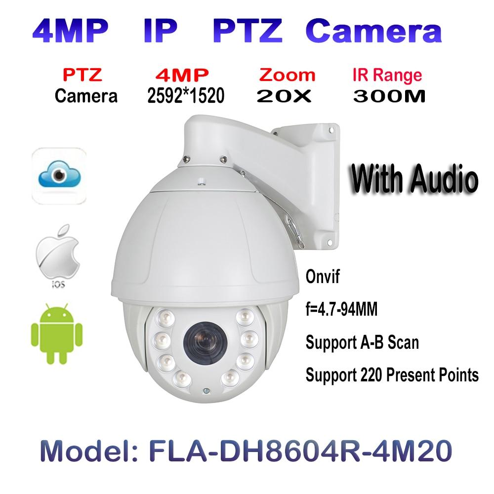 Dome Support 20X Camera