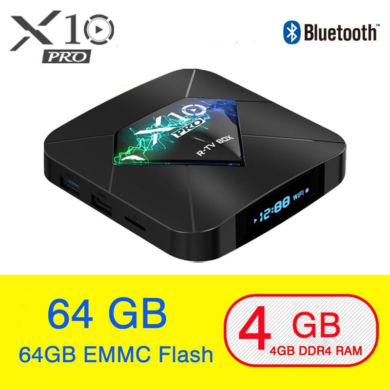 X10 Pro Smart TV BOX Android 8.1 Amlogic S905X2 LPDDR4 Quad Core 4GB 32GB 64GB 2.4G&5GHz Wifi Bluetooth 100M 4K Set top box screenshot