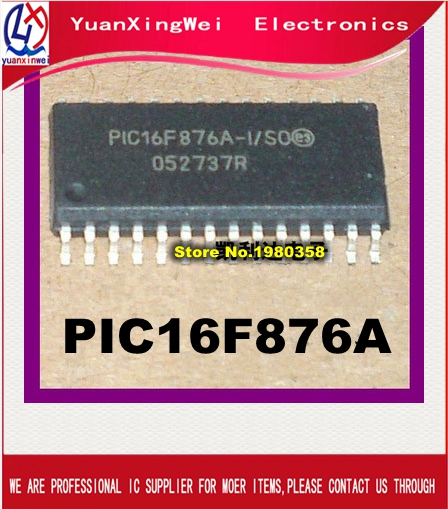 new original ! Free Shipping 10pcs PIC16F876A-I/SO PIC16F876A PIC16F876 16F876A 16F876 SOP28