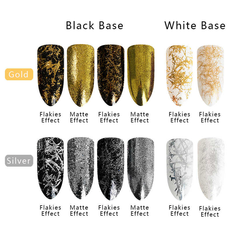 Mtssii Golden Silver Nail Foil Filament Nail Art Decorations Finger Strip  Sticker Lines for Nails Manicure Nails Accessoires