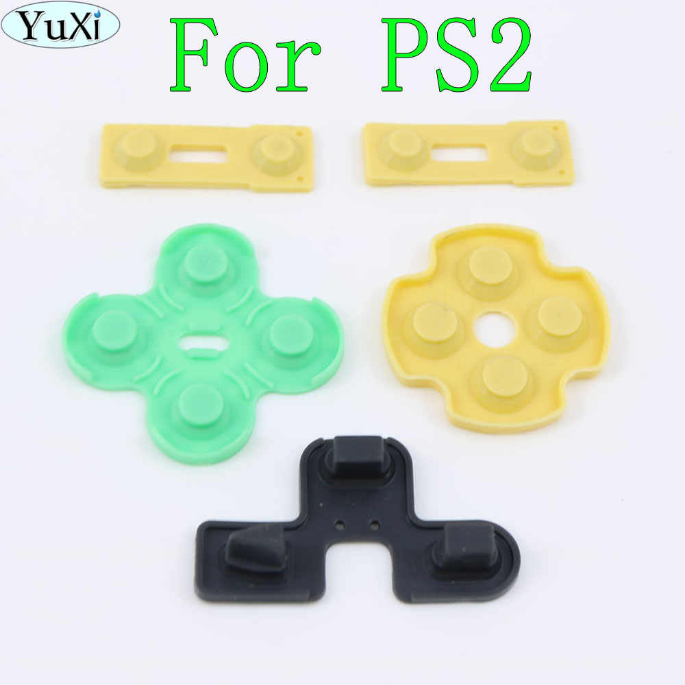 Detail Feedback Questions About 2sets Lot For Playstation 2 Ps2 Controller Repair Parts Pcb Ribbon Circuit Board M Type Yuxi 1 Set Conductive Rubber Pads Silicone Buttons Contact Replacement Sony Play Station