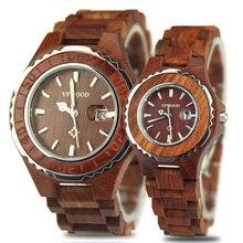 23a174e3289 Lovers Couple Quartz Watch Mens Fashion Wooden Women s Dress Clock Brand  Relogio Reloj Women Wrist Watches