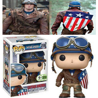 FUNKO Pop Original Captain America Model Figure Collectible Model Toy Marvel Avengers 4 Endgame Action Figure Kids Boy Doll Toy