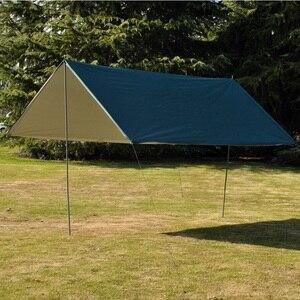Image 1 - 3M x 3M Waterdicht Zon Onderdak Tent Tarp Anti UV Strand Tent Schaduw Outdoor Camping Hangmat Regen Vliegen camping Zonnescherm Luifel Luifel