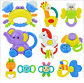 1 ШТ. Прекрасный Пластиковые Детские Toys Дрожащая Рука Белл Кольцо Погремушки toys Детские Развивающие Toys Jingle Погремушка Малыша