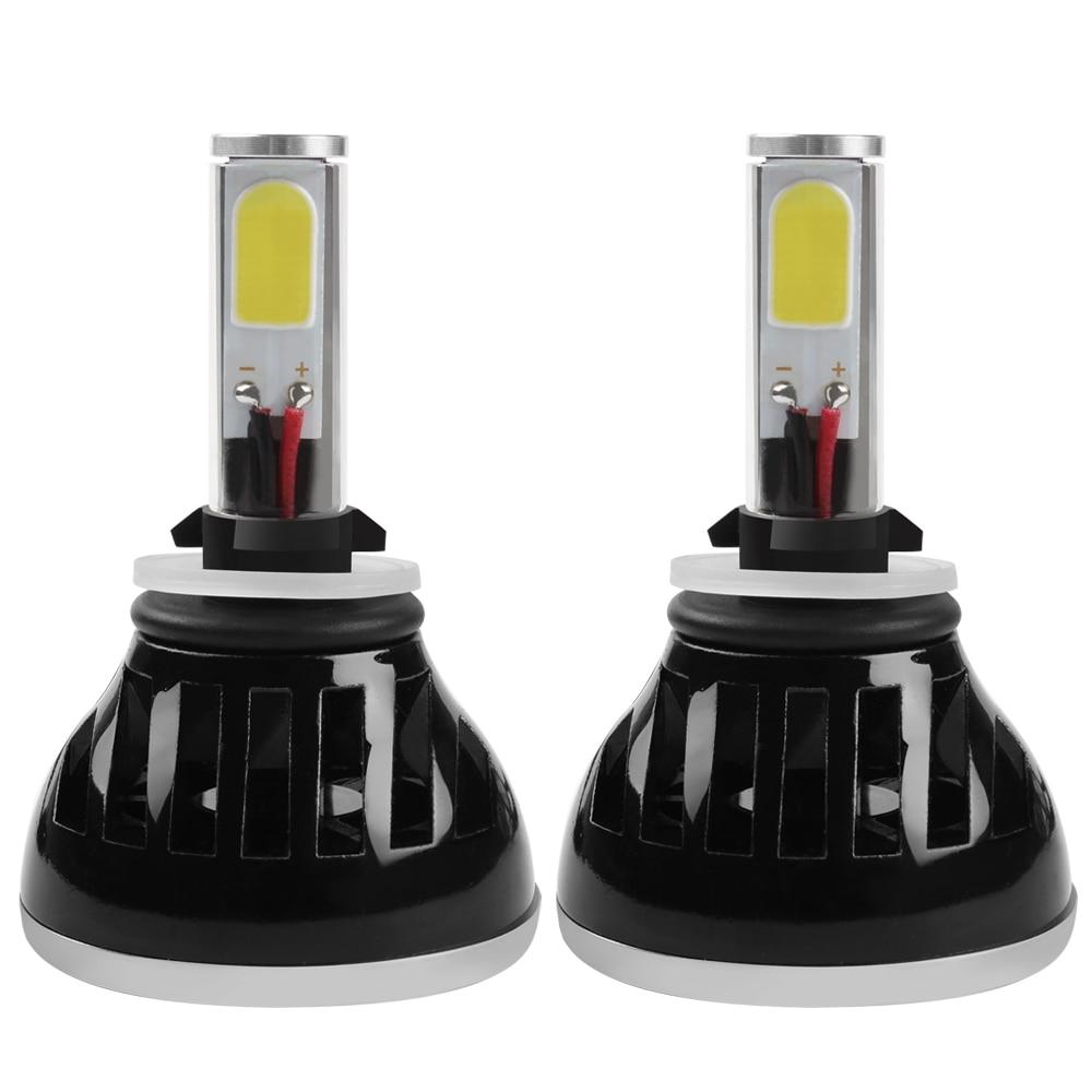 ФОТО G5 880 881 LED Headlight Car Head Light Universal H1 H4 H7 H11 HB4 Car-styling Lamp With Fan Automobile Light Source #iCarmo