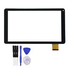 10.1 pulgadas Panel Digitalizador Del Sensor de Cristal Piezas de Reparación de la Pantalla Táctil para VTCP010A26-FPC-2.0 con Herramientas Gratuitas de Reparación
