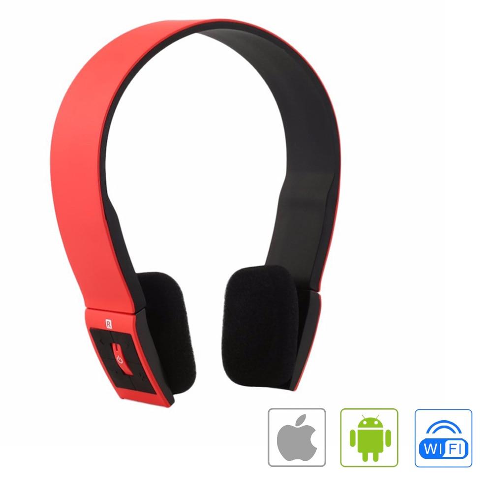 ФОТО Wireless Bluetooth Headphones Portable Sports Stereo Headset Headphone With Mic for iPhone Mobile Phones Samsung Android iOS