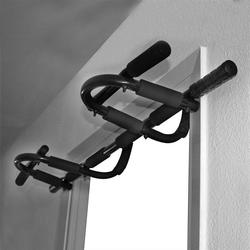 Doorway Chin-up Horizontal Bar for Core Training Indoor Fitness Horizontal Bar Pull Up with Multiple Uses Gym Equipments HWC