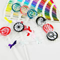 Davidsource 1 unidades condón lollipop colorido obvio producto adulto del sexo del condón condones de látex de anticonceptivos de regalos envío gratis