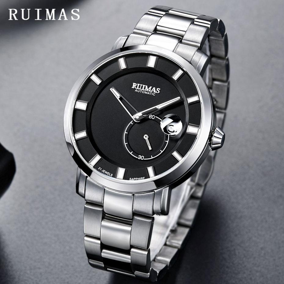 RUIMAS Luxury Quartz Men Watch Relogio Masculino Topp Märke Fashion - Herrklockor - Foto 2