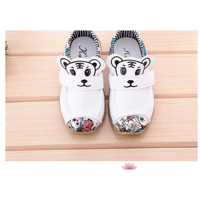 2016 New Toddler Boys Shoes Animal Chaussure Enfant Fashon Baby Casual Shoes Cartoon Shoes Kids Cool Infant Shoes