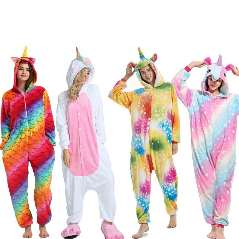 04cf76a2e Adults Animal Pajamas Sets Cartoon Sleepwear Cosplay Zipper Women ...