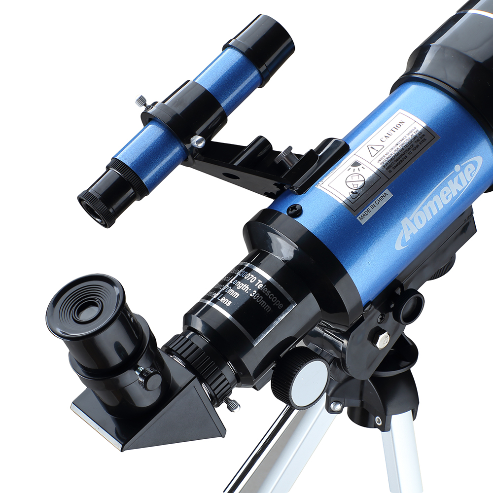 F30070M HD Astronomical Telescope With Tripod Phone Adapter Monocular Moon Bird Watching Kids Adults  Astronomy Beginners Gift