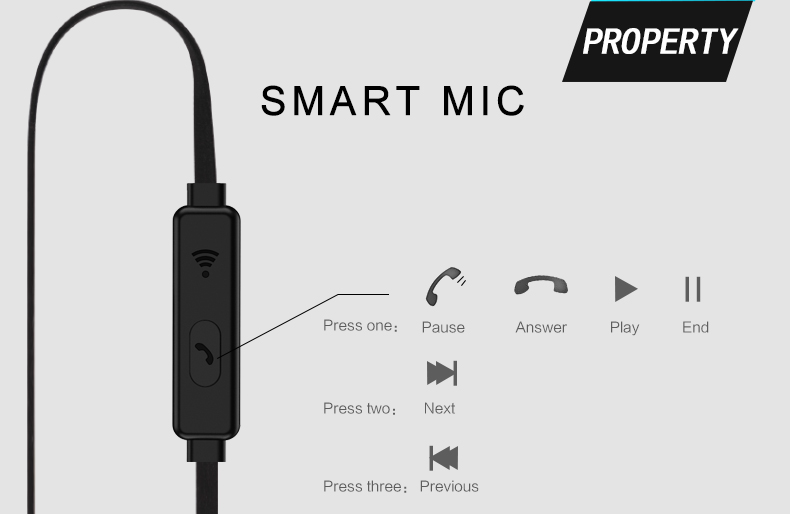 Original Brand Earbuds JM26 Headphone Noise Isolating in ear Earphone Headset with Mic for Mobile phone Universal for MP4 15