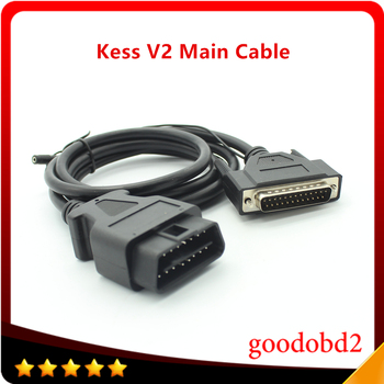 цена на Main Test Cable For KESS V2 OBD2 Manager Tuning Kit Master Version KESS ECU Chip Tunning KESS V2 Cable