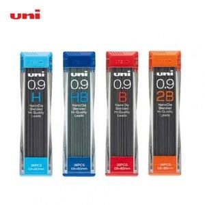 Image 3 - 6 Tubes Uni 202ND 0.3/0.5/0.7/0.9mm ołówek automatyczny wkłady rysunek specjalne przewody do szkoły i materiały biurowe