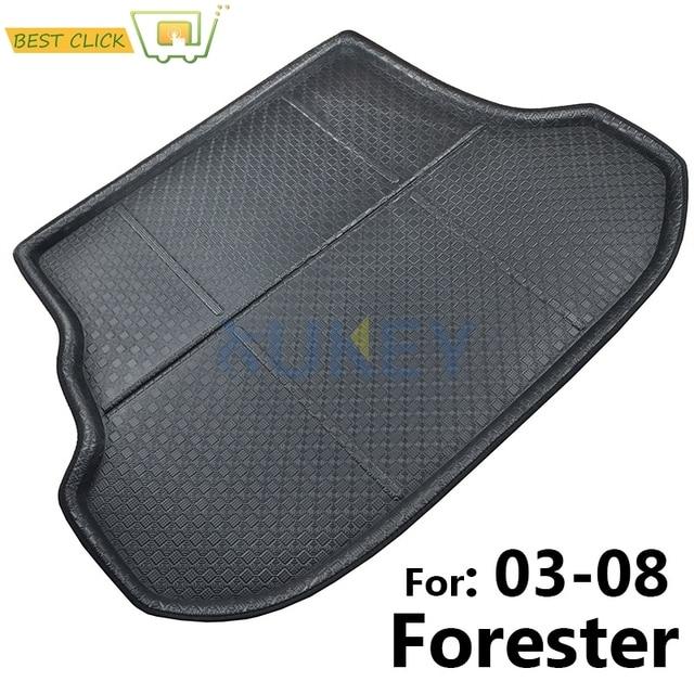rear cargo mat for subaru forester cargo tray trunk liner boot floor mat