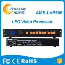 Beste Prijs Outdoor Indoor Full Color Led Scherm Led Video Wall Controller Hdmi Dvi Av Converter Video Processor LVP506