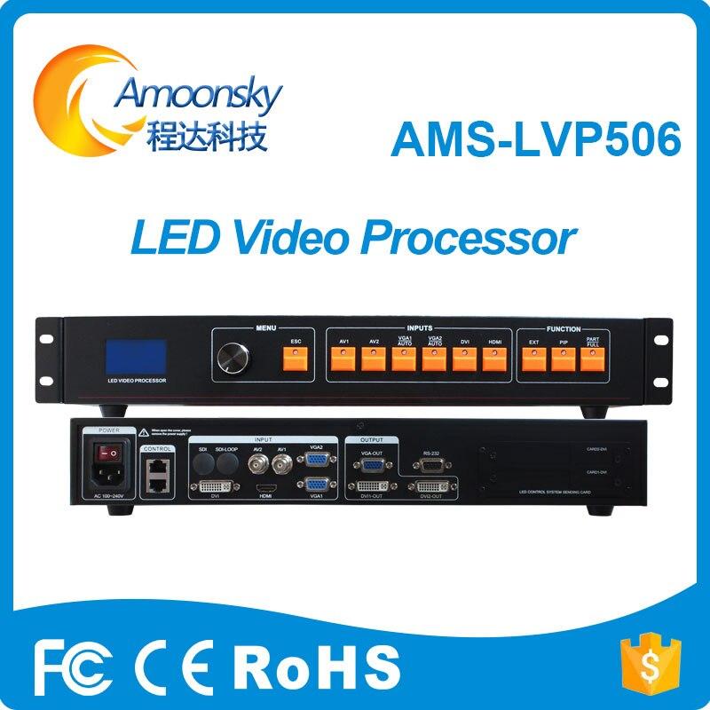 Meilleur Prix En Plein Air Polychrome D'intérieur écran affichage LED mur vidéo LED Contrôleur HDMI DVI Convertisseur AV Vidéo Processeur LVP506