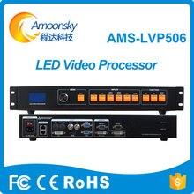 Pantalla Led a todo Color para interiores al mejor precio, controlador de pared, HDMI, DVI, AV, convertidor, procesador de vídeo LVP506