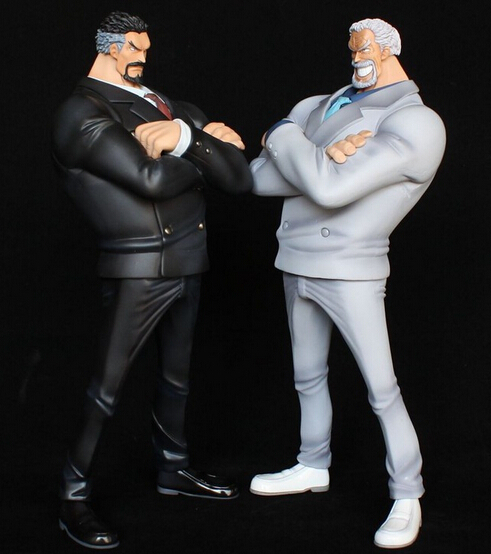 ФОТО On stock again anime 1pcs one piece Monkey D. Garp action pvc figure toy tall 28cm in color box.White/Black figure choose.