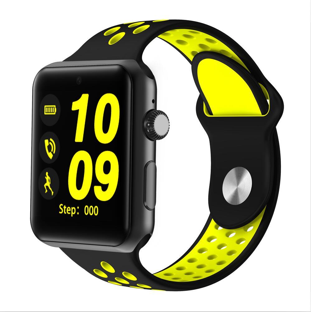 Montre intelligente DM09 Plus avec carte SIM podomètre sommeil Fitness Tracker étanche Smartwatch pour Android IOS